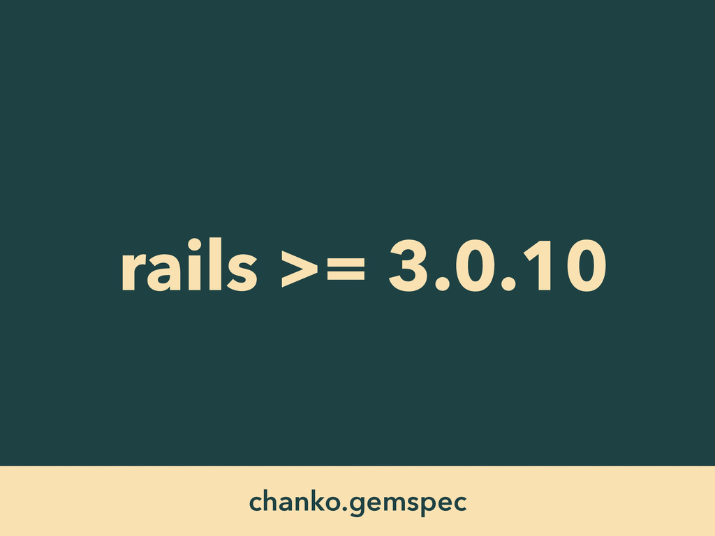 rails >= 3.0.10 chanko.gemspec