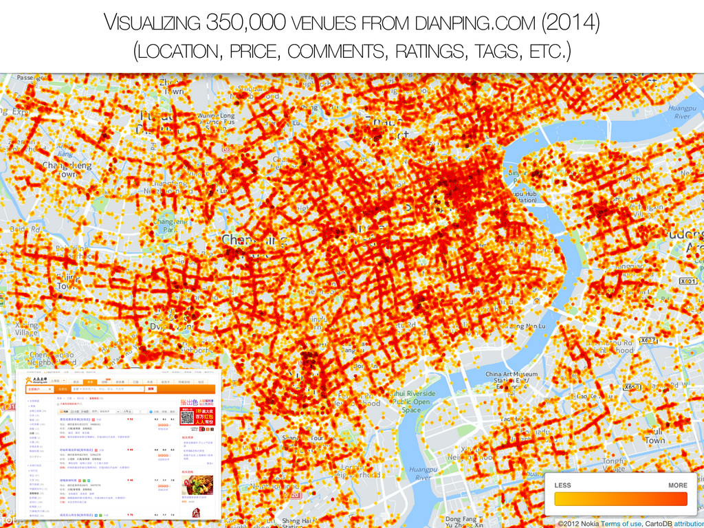 VISUALIZING 350,000 VENUES FROM DIANPING.COM (2...