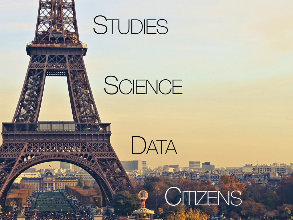DATA SCIENCE STUDIES CITIZENS