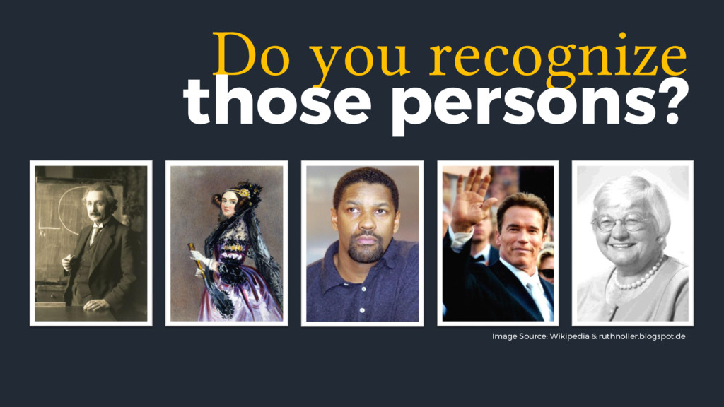 Do you recognize those persons? Image Source: W...