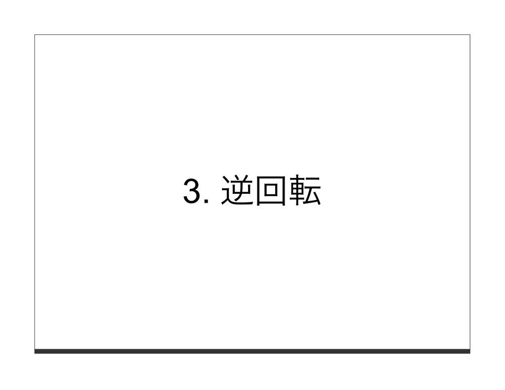 3. 逆回転