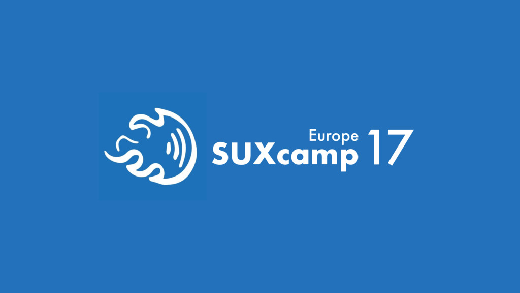 SUXcamp17 Europe