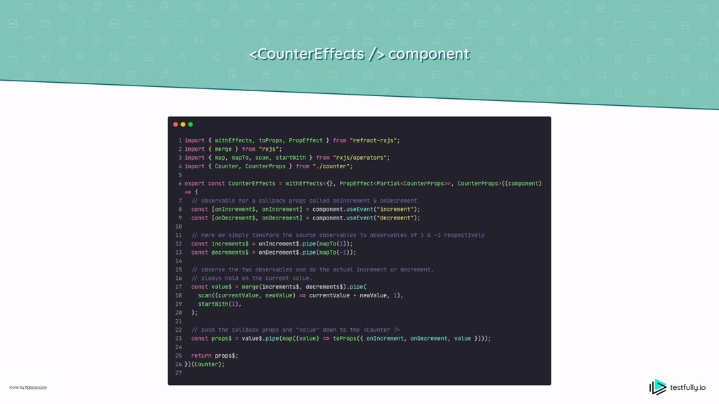 <CounterE ff ects /> component testfully.io Ico...