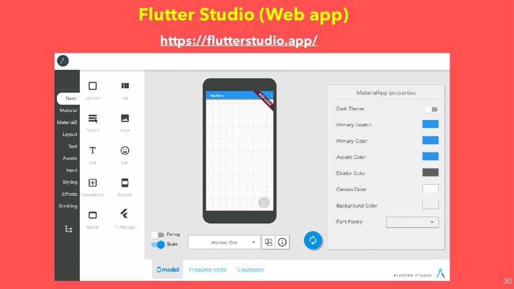 Flutter Studio (Web app) https://flutterstudio.a...