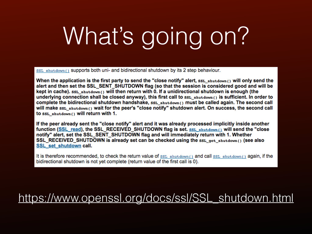 What's going on? https://www.openssl.org/docs/s...