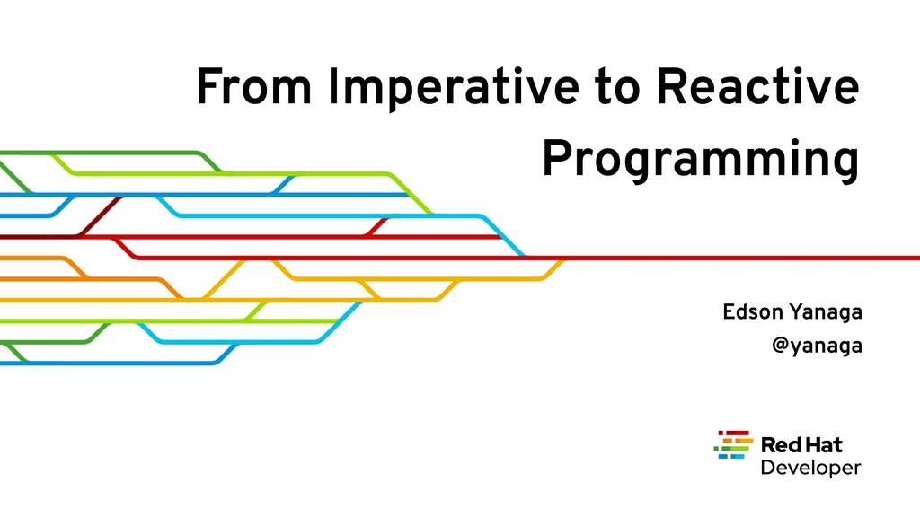From Imperative to Reactive Programming Edson Y...