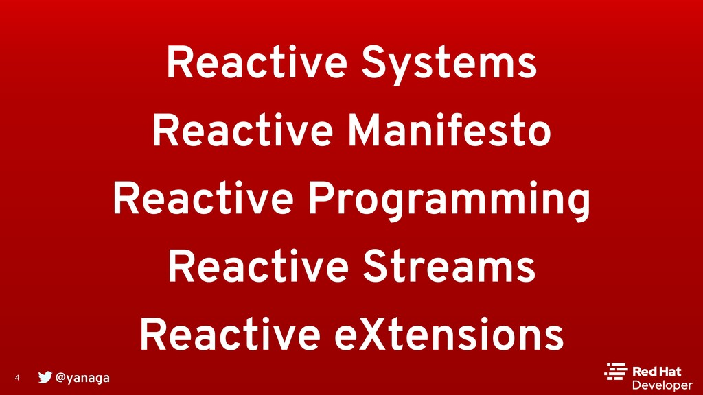 @yanaga 4 Reactive Systems Reactive Manifesto R...