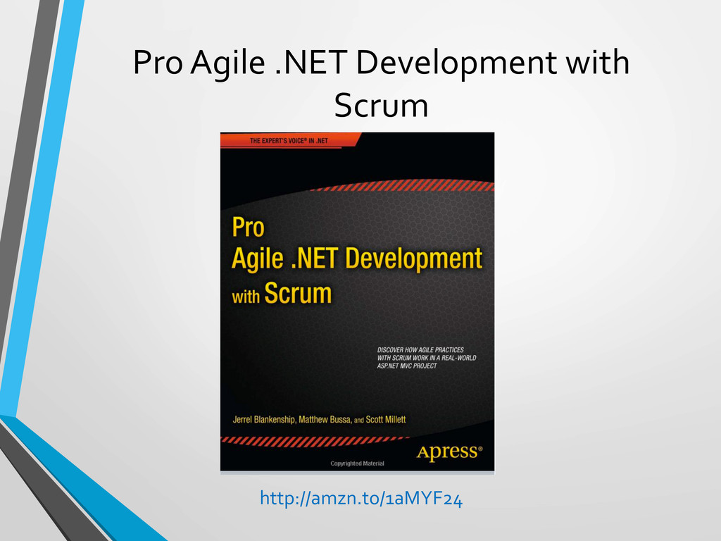Pro Agile .NET Development with ...