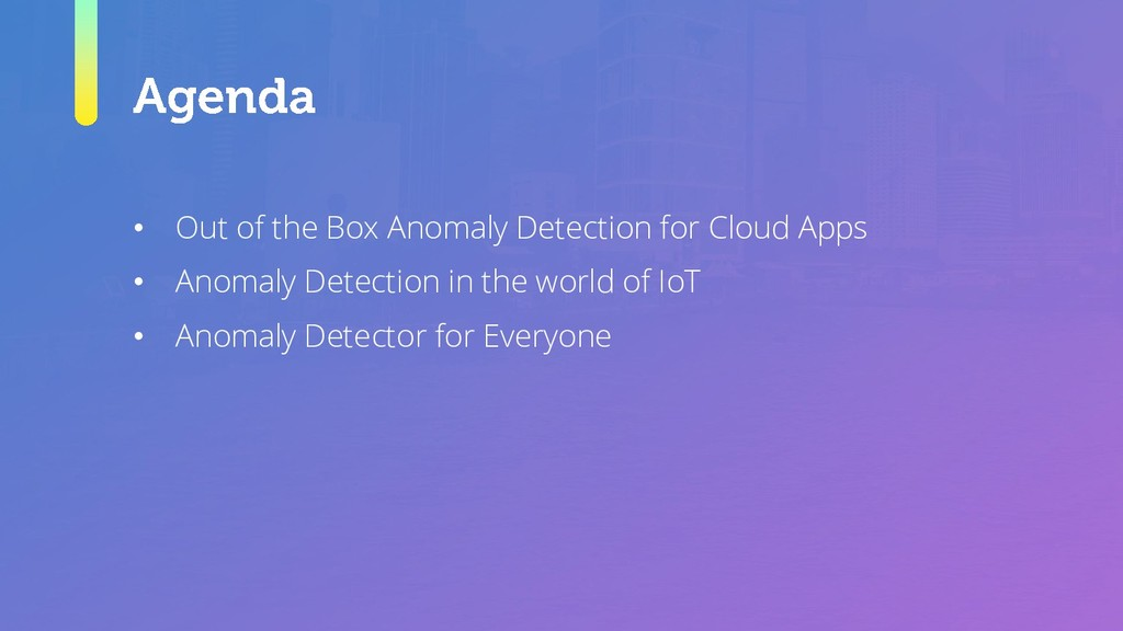 • Out of the Box Anomaly Detection for Cloud Ap...