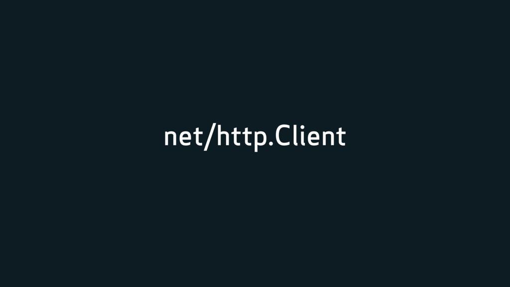 net/http.Client