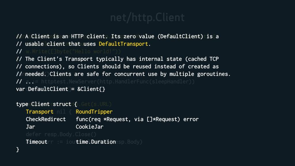 net/http.Client var sleepHandler = func(w http....