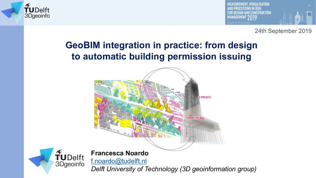 GeoBIM integration in practice: from design to ...
