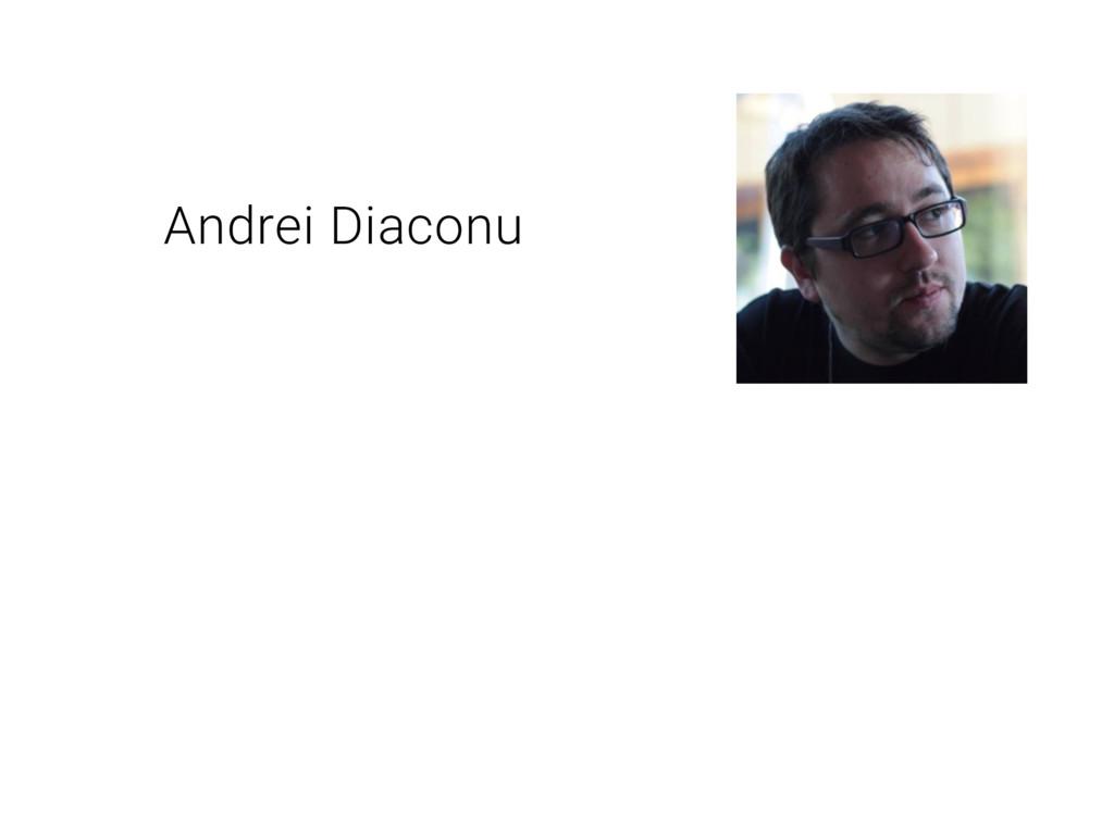 Andrei Diaconu