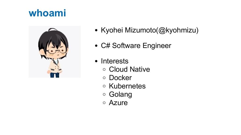 Kyohei Mizumoto(@kyohmizu) C# Software Engineer...