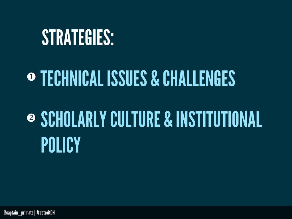 TECHNICAL ISSUES & CHALLENGES  @captain_primat...