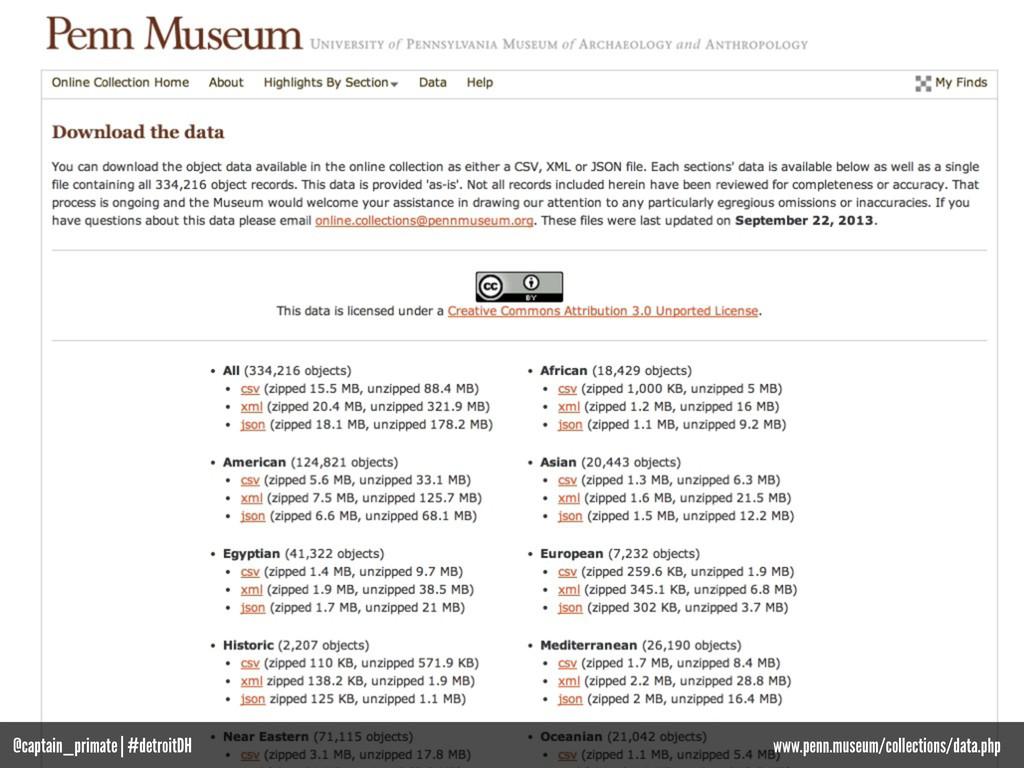 @captain_primate | #detroitDH www.penn.museum/c...