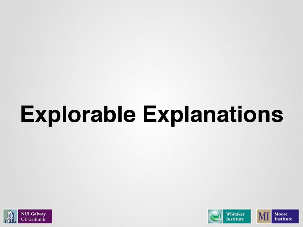 Explorable Explanations