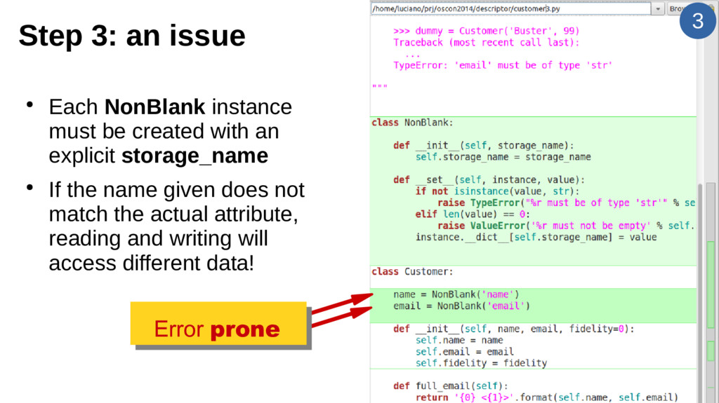 3 Step 3: an issue ● Each NonBlank instance mus...