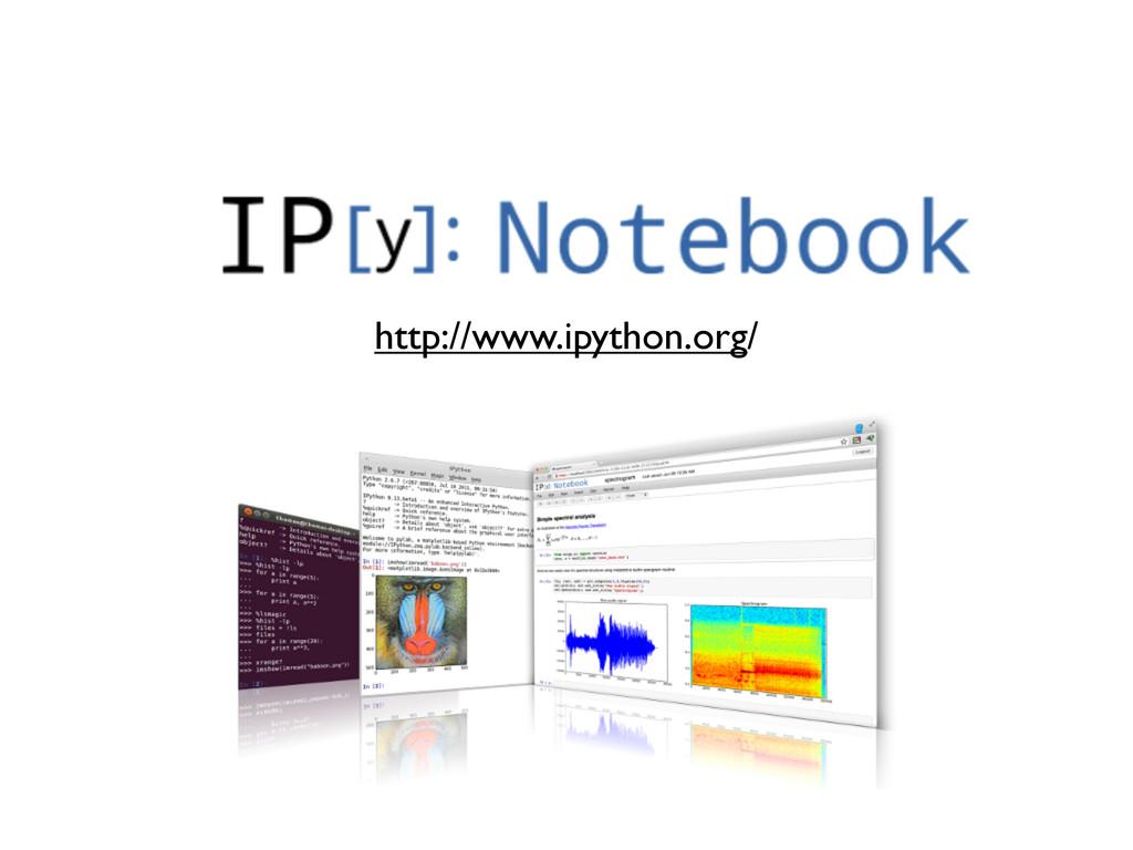 IPython Notebook http://www.ipython.org/