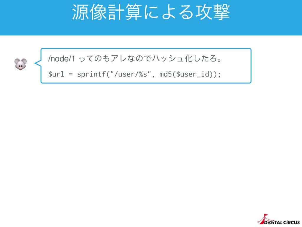 ݯ૾ܭʹΑΔ߈ܸ  /node/1 ͬͯͷΞϨͳͷͰϋογϡԽͨ͠Ζɻ $url = sp...