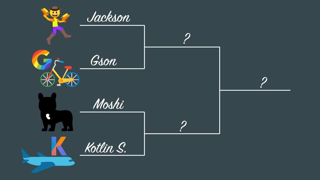 Gson Jackson Moshi Kotlin S. ? ? ?