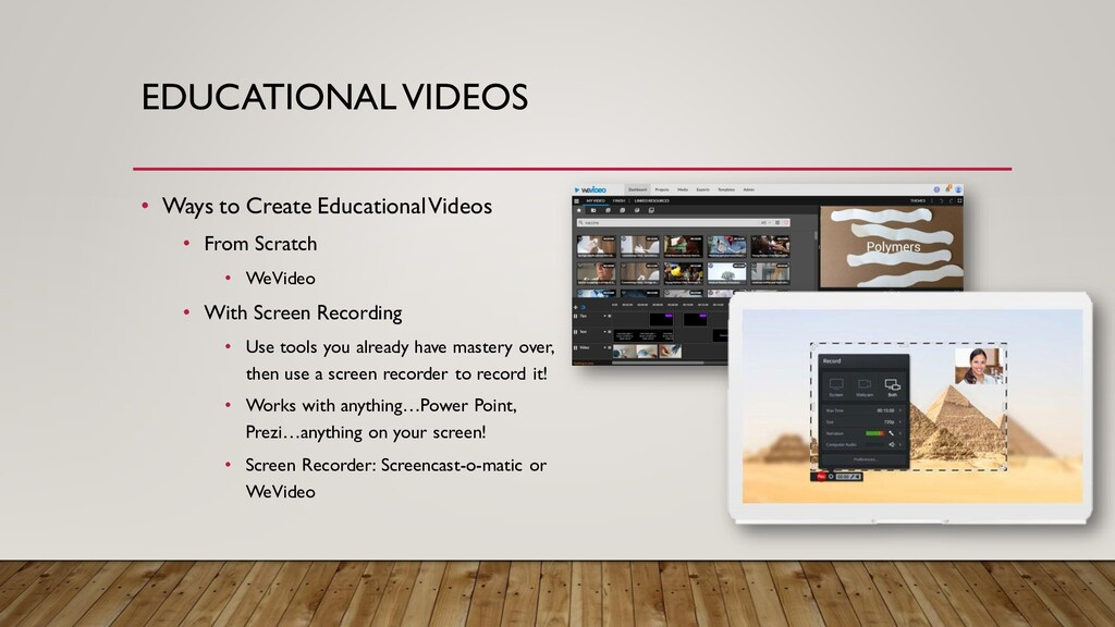 EDUCATIONAL VIDEOS • Ways to Create Educational...