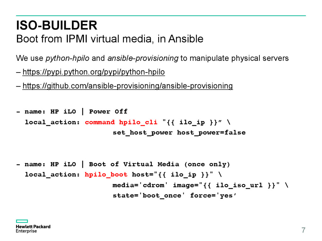 ISO-BUILDER Boot from IPMI virtual media, in An...