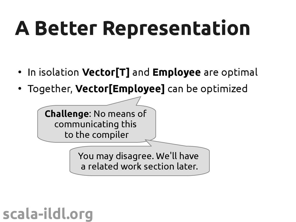 scala-ildl.org A Better Representation A Better...