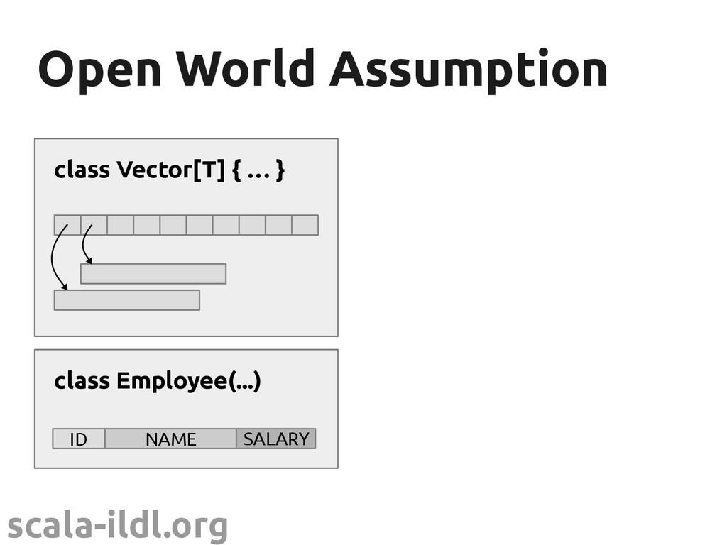 scala-ildl.org Open World Assumption Open World...