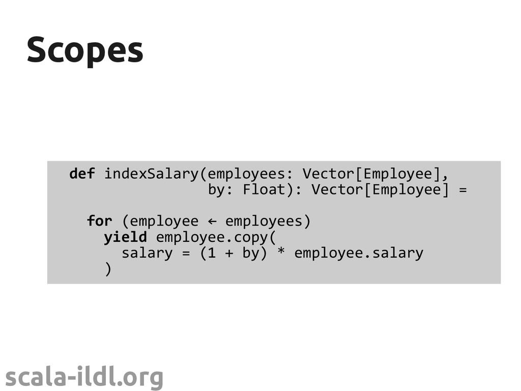 scala-ildl.org Scopes Scopes def indexSalary(em...