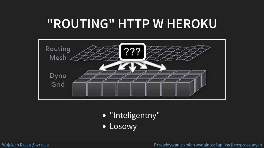"""""""ROUTING"""" HTTP W HEROKU """"Inteligentny"""" Losowy W..."""