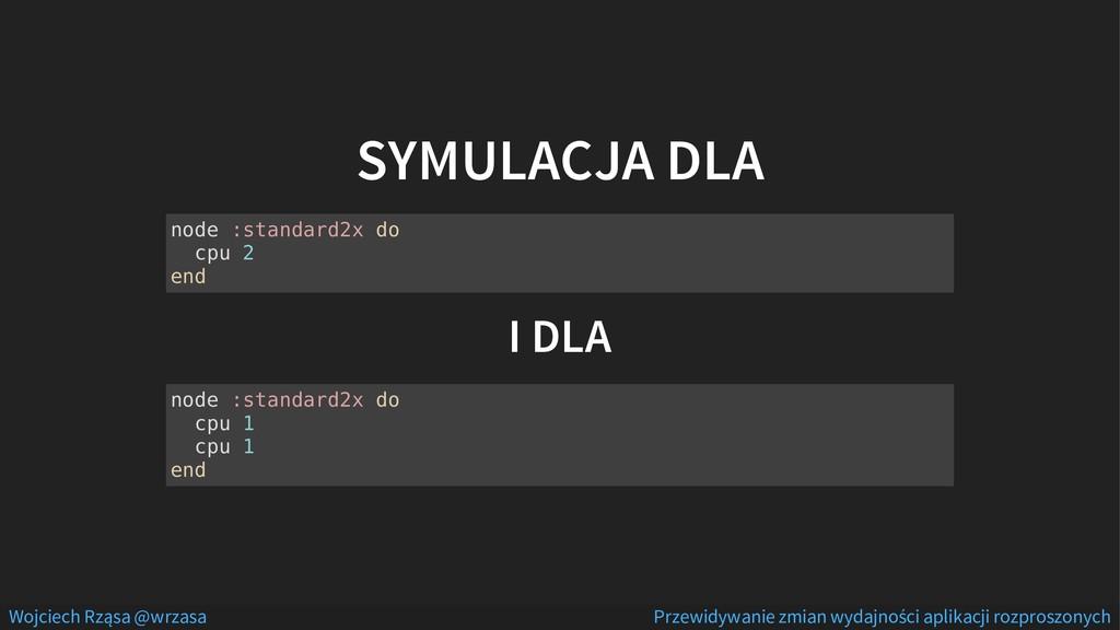 SYMULACJA DLA I DLA node :standard2x do cpu 2 e...