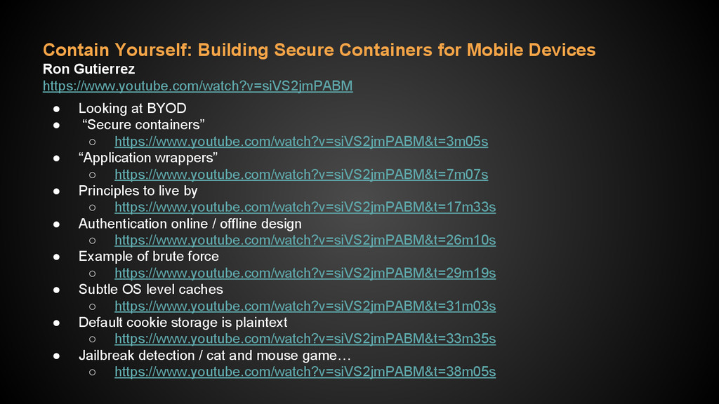 Contain Yourself: Building Secure Containers fo...
