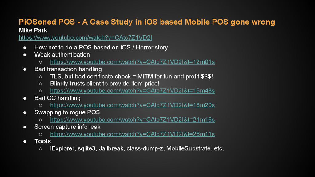 PiOSoned POS - A Case Study in iOS based Mobile...