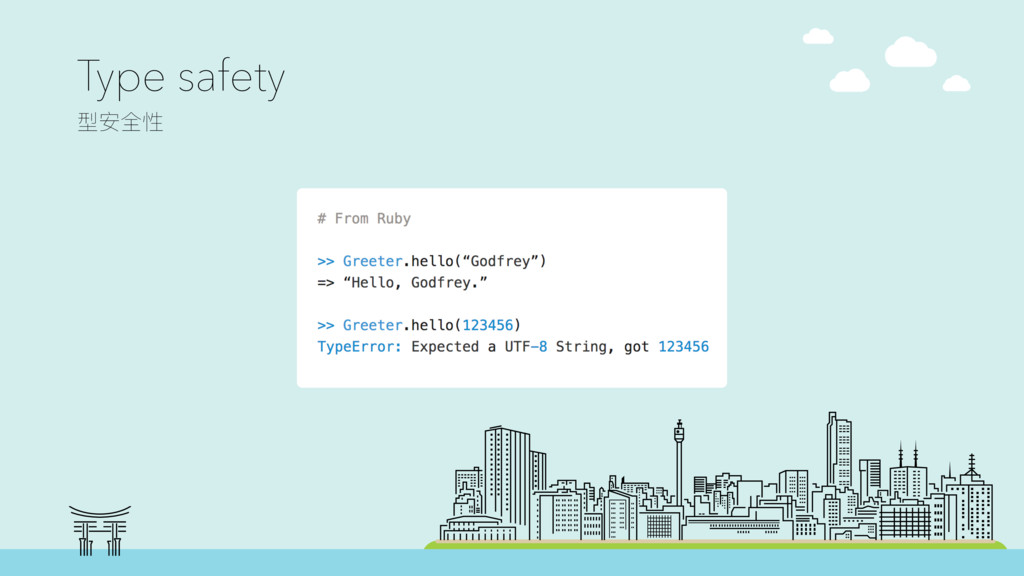 "# From Ruby >> Greeter.hello(""Godfrey"") => ""Hel..."