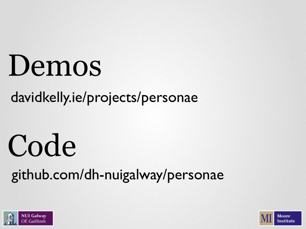 davidkelly.ie/projects/personae Demos Code gith...