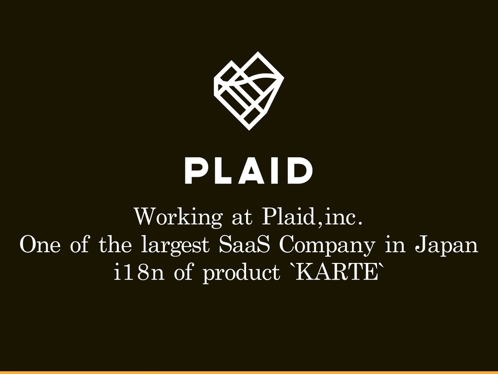 Working at Plaid,inc. One of the largest SaaS C...