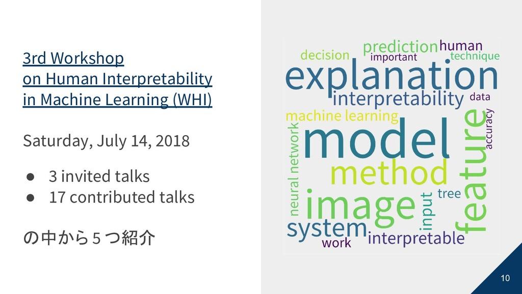 10 3rd Workshop on Human Interpretability in Ma...