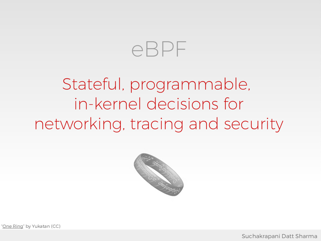 eBPF Stateful, programmable, in-kernel decision...
