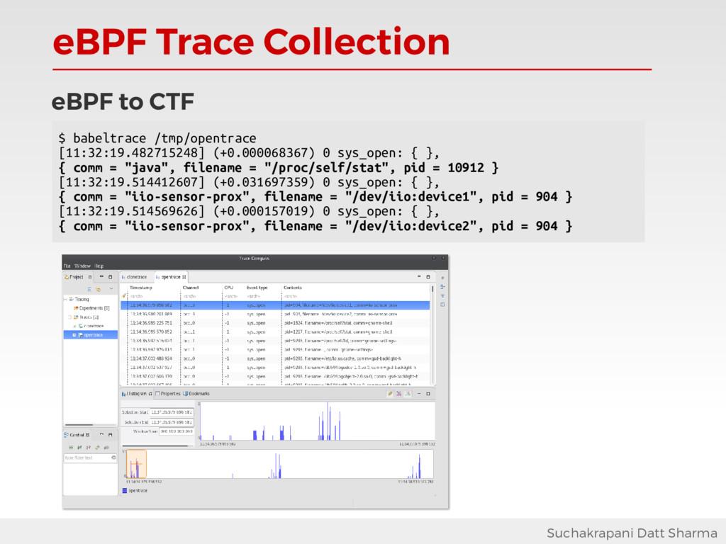 eBPF Trace Collection Suchakrapani Datt Sharma ...