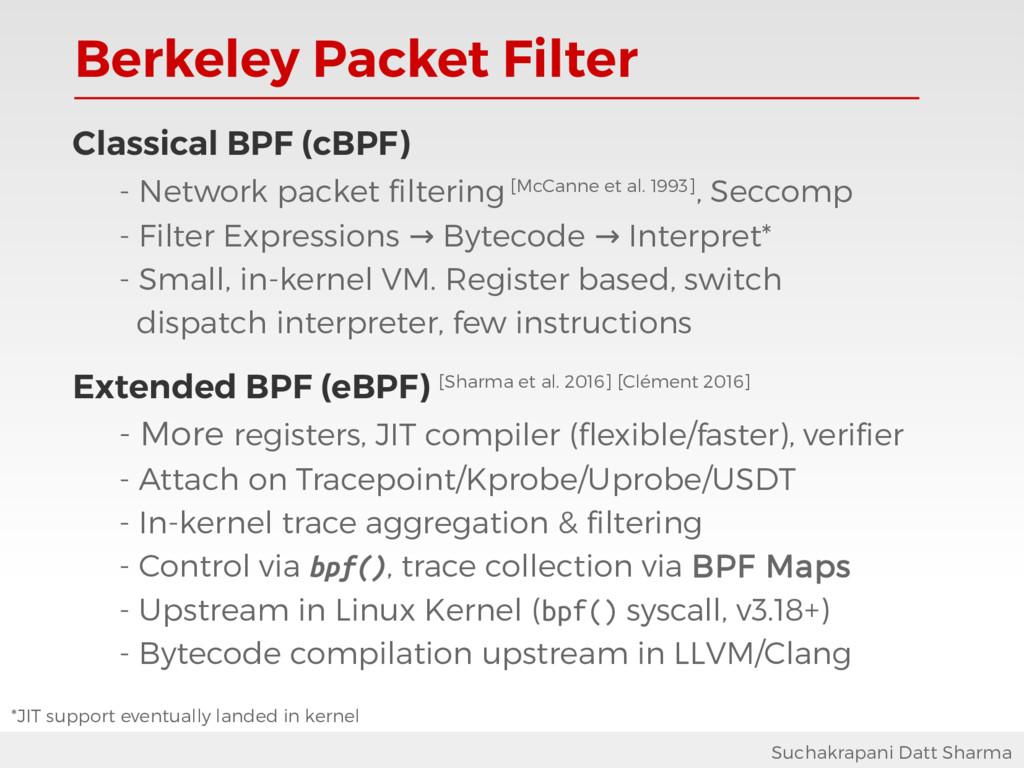 Berkeley Packet Filter Suchakrapani Datt Sharma...