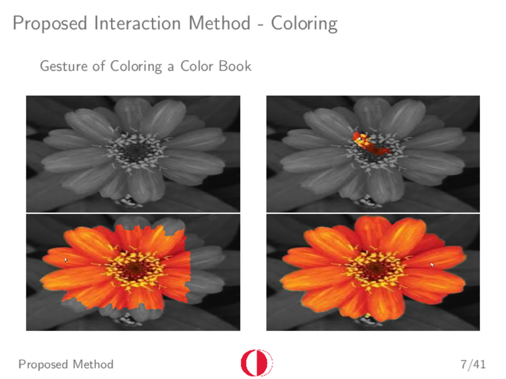 Proposed Interaction Method - Coloring Gesture ...