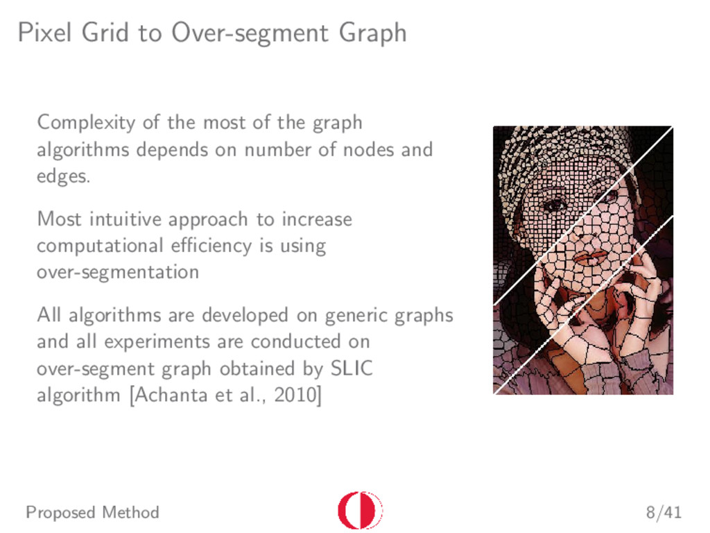 Pixel Grid to Over-segment Graph Complexity of ...