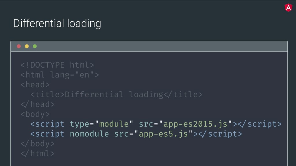 @yourtwitter Differential loading <!DOCTYPE htm...