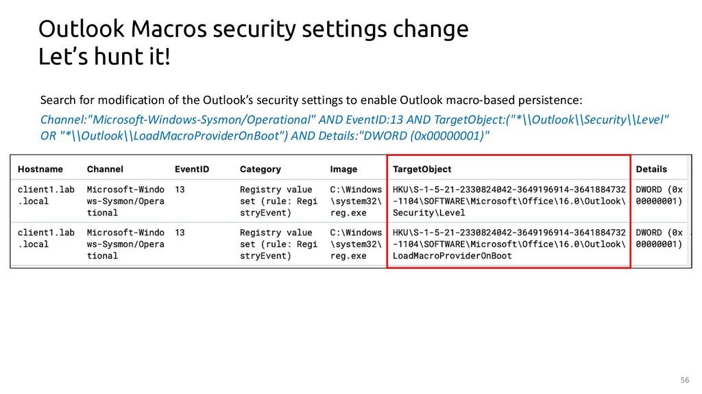 56 Outlook Macros security settings change Let'...