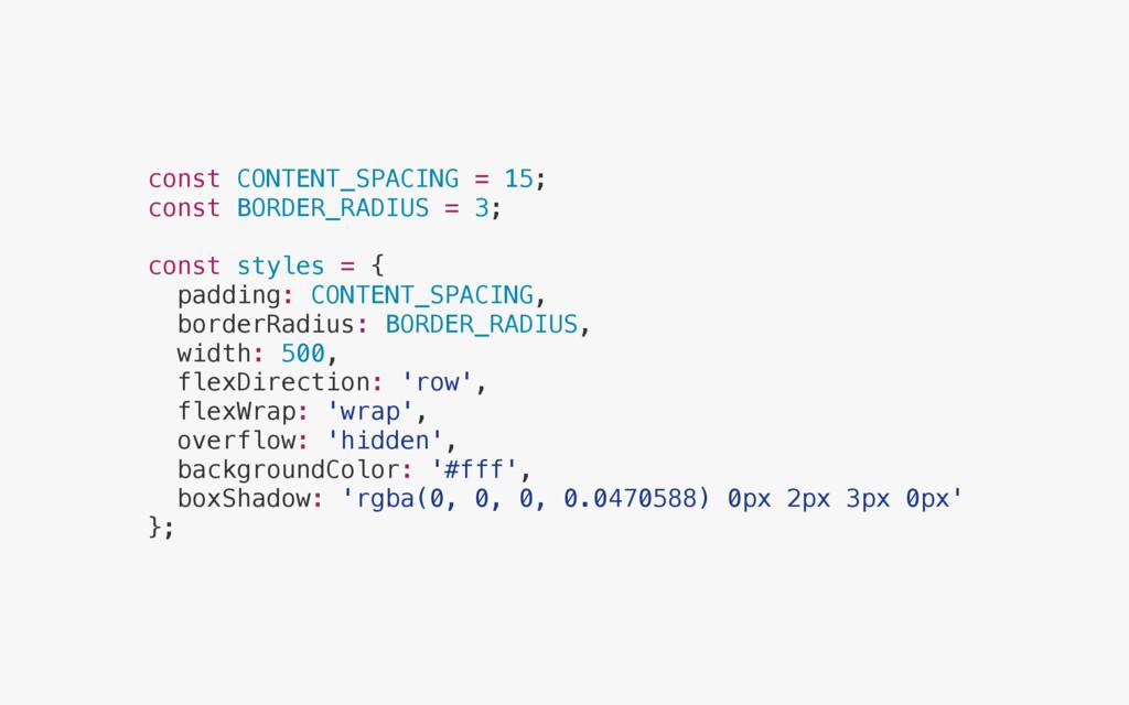 const CONTENT_SPACING = 15; const BORDER_RADIUS...