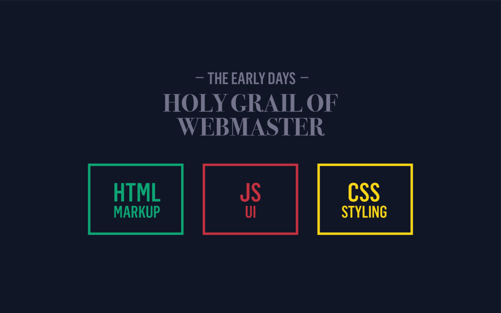 HTML MARKUP HOLY GRAIL OF  WEBMASTER JS UI CSS...