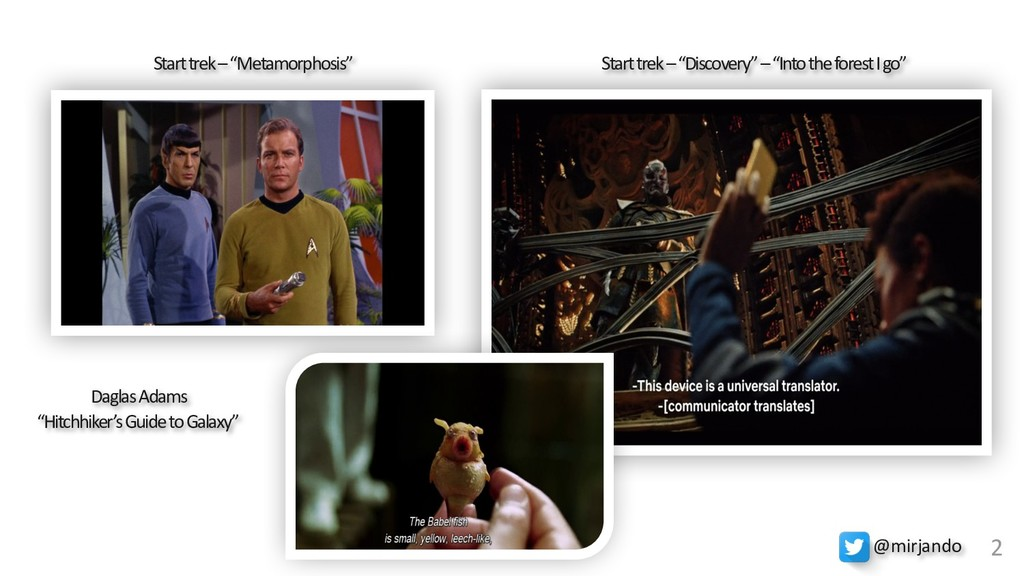 """Start trek – """"Discovery"""" – """"Into the forest I g..."""